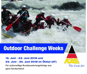 Anzeige Outdoor Challenge Week KAS 2018.